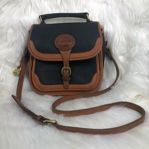 Vintage Dooney & Bourke AWL Black Surrey Carrier